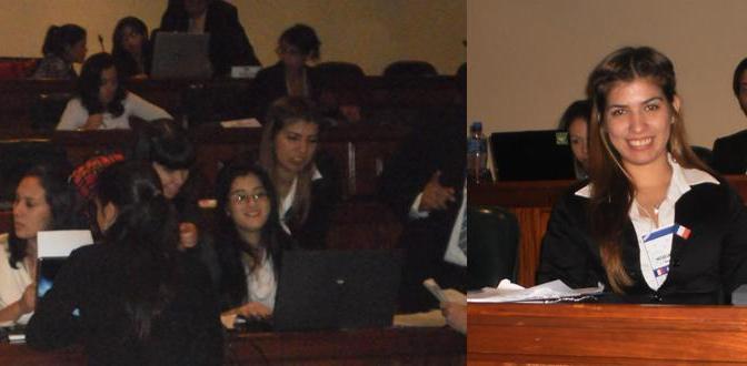 Comentario de Noelia Jara, delegada de Francia
