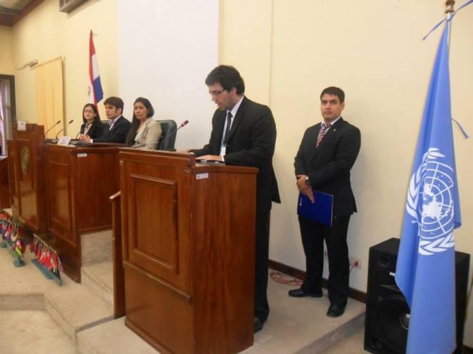 Discurso de bienvenida del Secretario General de MUNDER II