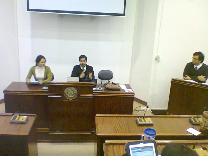 """Exposición """"Procedimiento y herramientas de debate"""""""